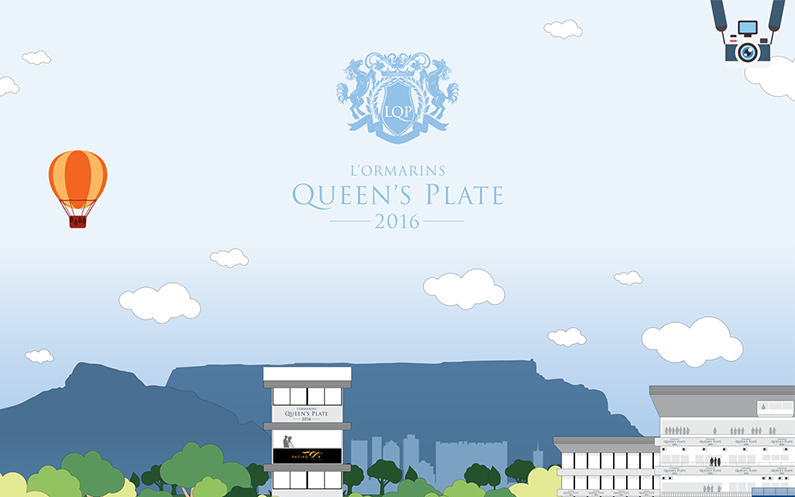 Beautiful new website for L'Ormarins Queen's Plate