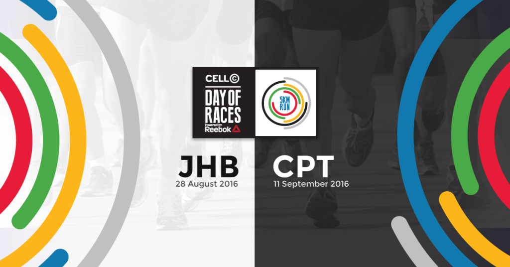 Cell C Day of Races powered by Reebok